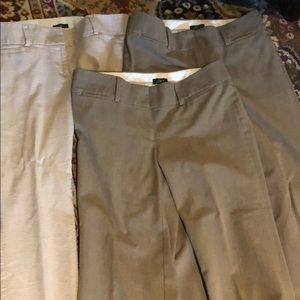 Lot of 3 Ann Taylor LOFT pants. Size 4